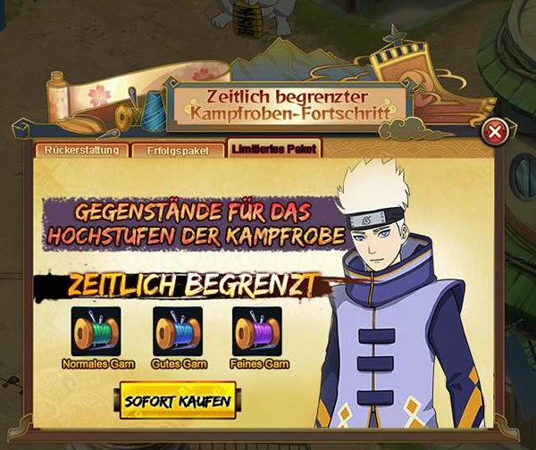 Naruto Online Kampftaktik
